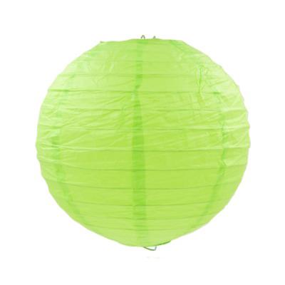 青綠色紙燈籠20CM