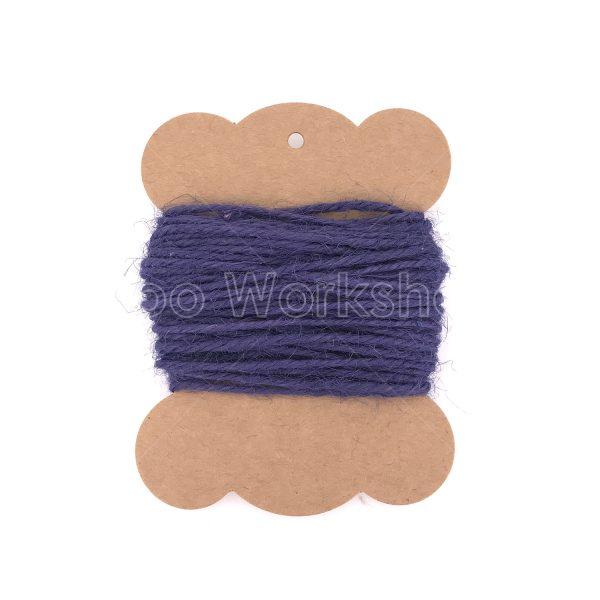 深藍色麻繩