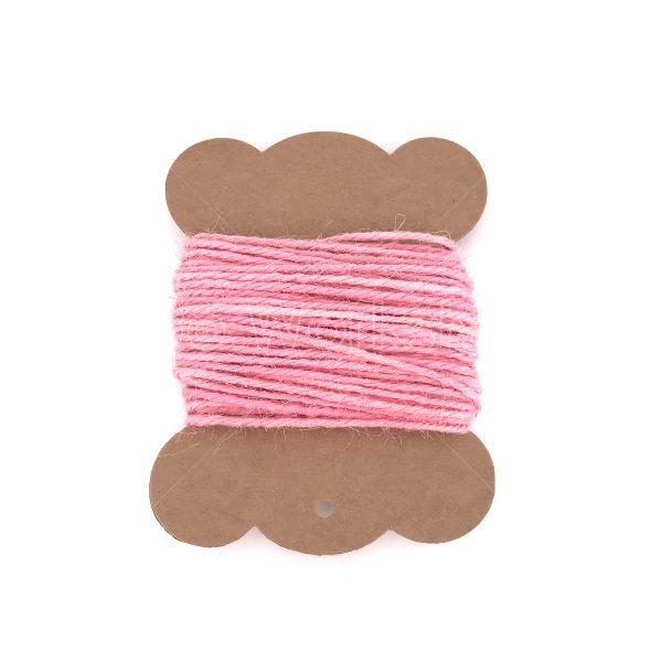 粉紅色麻繩