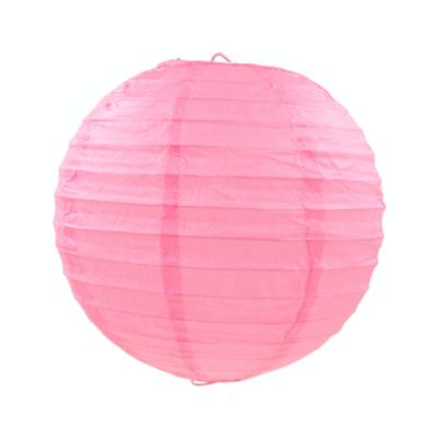 粉紅色紙燈籠