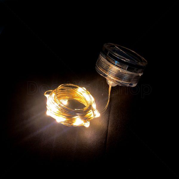 LED防水燈串-暖黃1米20燈