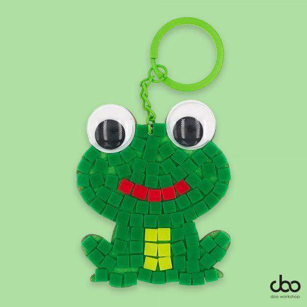 馬賽克青蛙匙扣DIY材料包