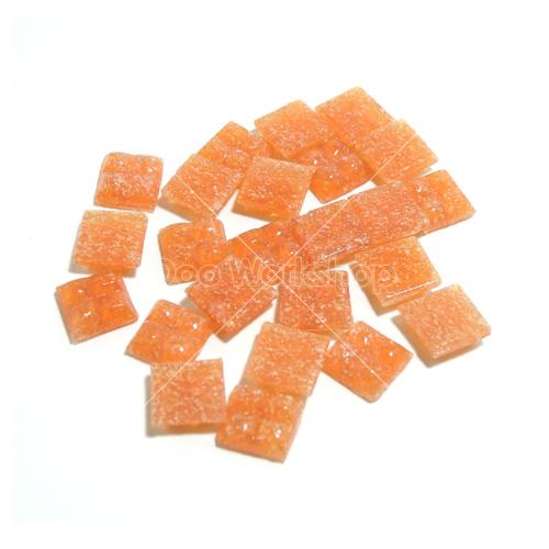 磨砂橙纖維馬賽克10MM
