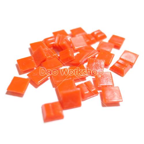 橙色纖維馬賽克10MM