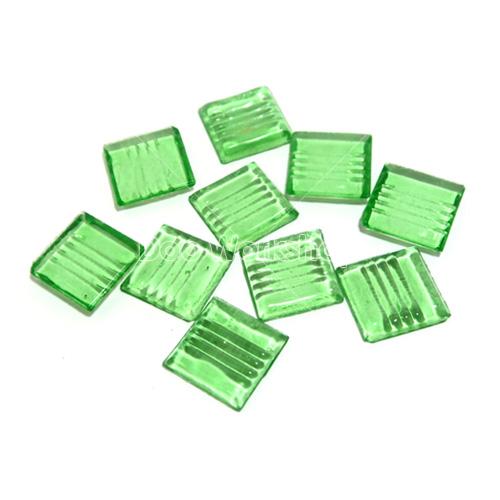 綠色透明馬賽克
