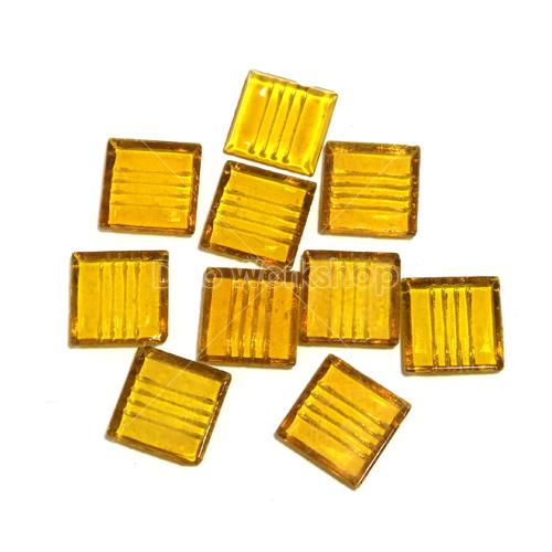 黃色透明馬賽克20X20MM