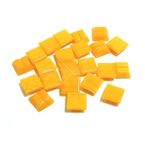 橙黃色纖維馬賽克10MM