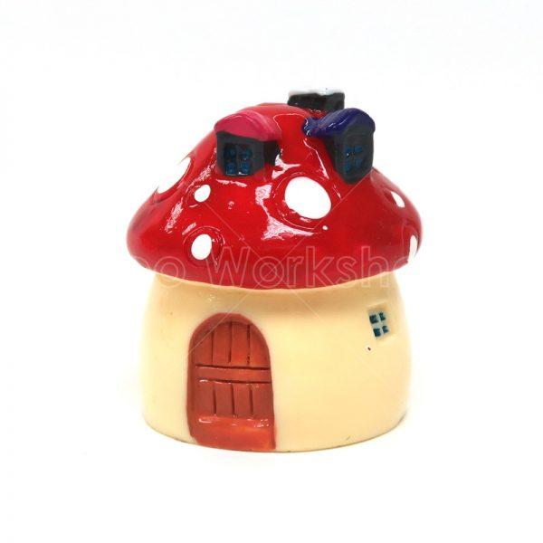 紅色蘑菇小屋
