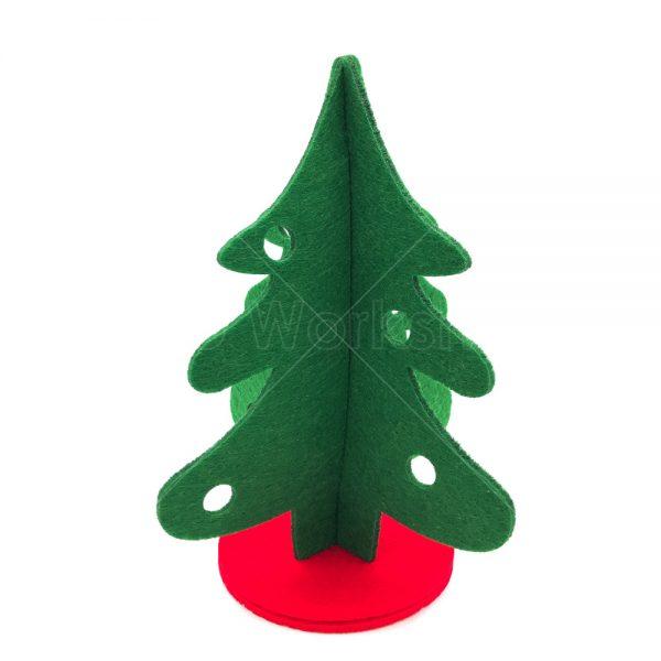 不織布綠色聖誕樹