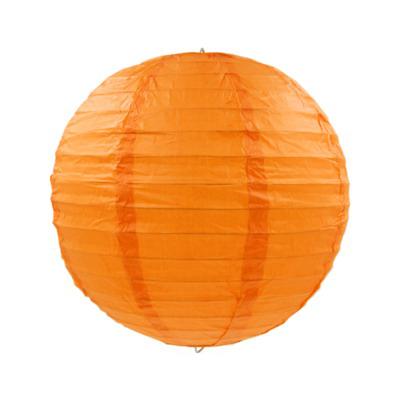 橙色紙燈籠20CM