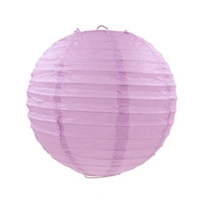 紫色紙燈籠20CM