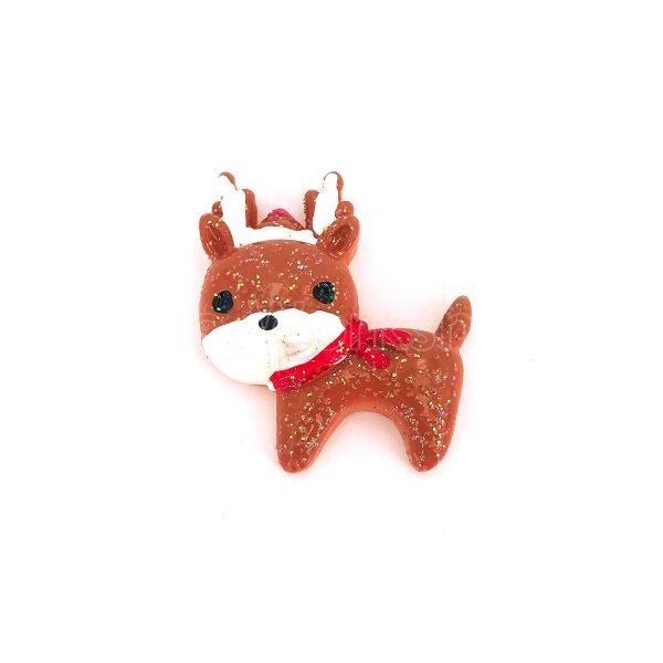 聖誕鹿樹脂裝飾1