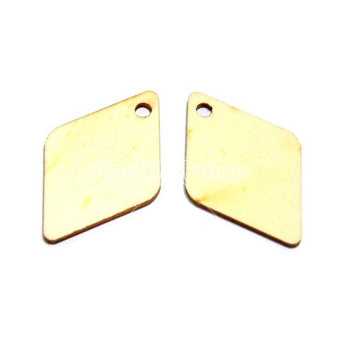 開孔菱形木片