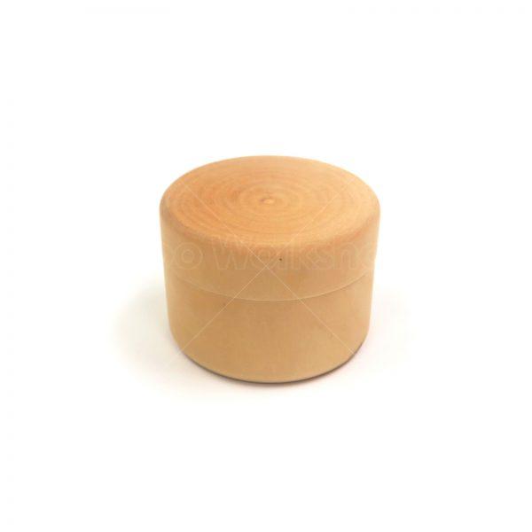 圓形木盒4.5cmX6cm直徑