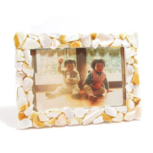 馬賽克貝殼相架DIY材料包