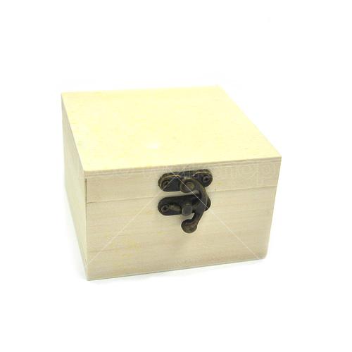 正方形有扣木盒9.5X9.5X6.5CM