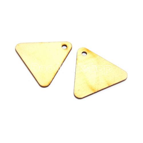 開孔三角形木塊