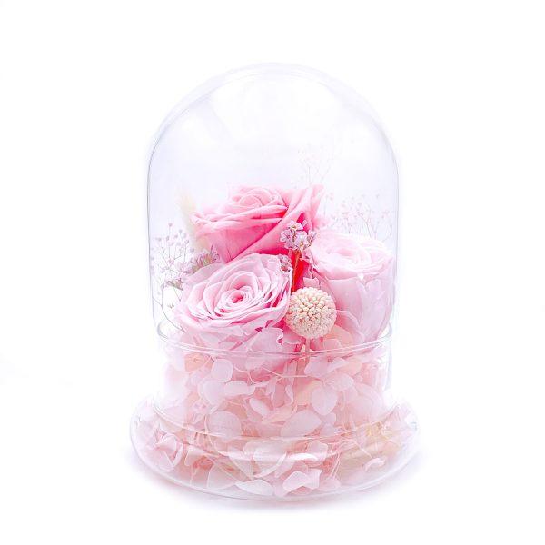 情人節玫瑰花永生花保鮮花擺設