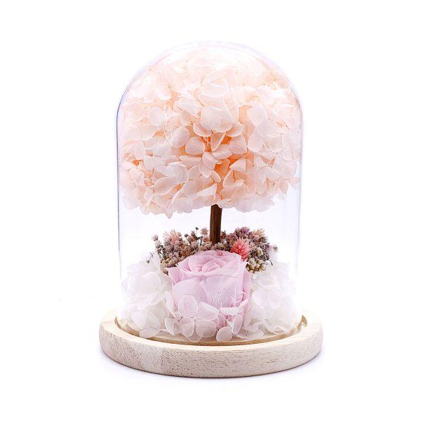 情人節玫瑰永生花保鮮花樹擺設