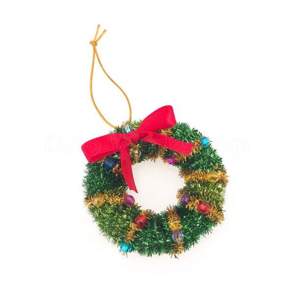 聖誕花環掛飾DIY材料包