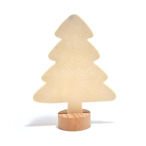坐枱木聖誕樹