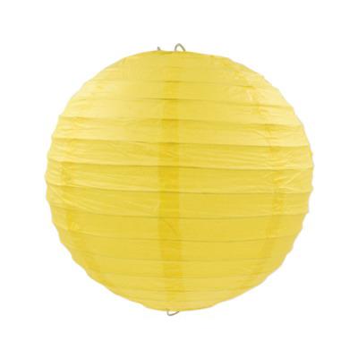 黃色紙燈籠15CM/20CM